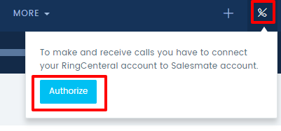Built-in Calling using RingCentral Integration – Salesmate